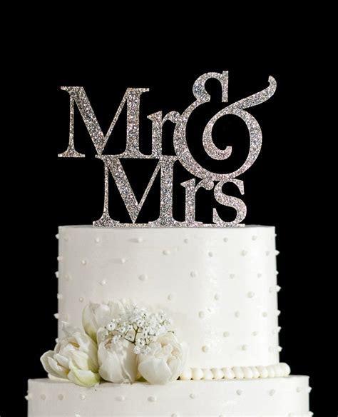 Silver Wedding Cake Decorations   Wedding Ideas By Colour