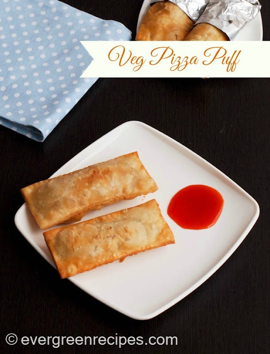 McDonald's Styled Veg Pizza Puff | How to Prepare Pizza Puff