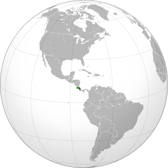 File:Costa Rica (orthographic projection).svg