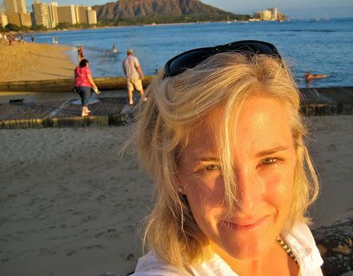 Me. Sunset. Waikiki. 1010