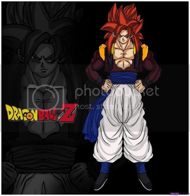 dragon ball gt super saiyan 4 gogeta