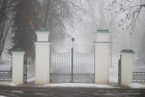 Baisiogalos dvaro vartai