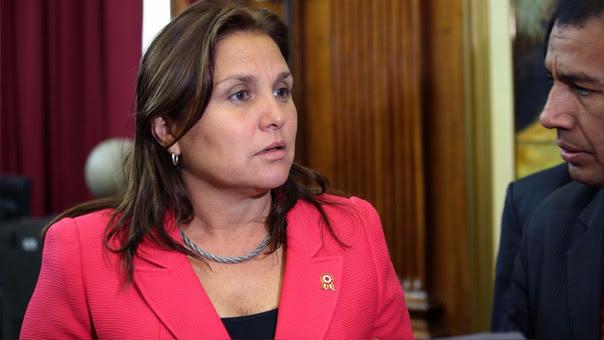 Marisol Pérez Tello, ministra de Justicia.