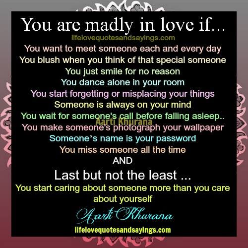 Quotes About Madly In Love 95 Quotes