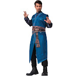 Rubie's Costume Men's Marvel's Doctor Strange Robe Costume, Blue