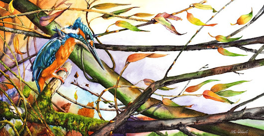 Catch The Wind (2017) Watercolour by Peter Williams
