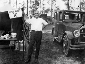 Otho Granford Shoup at Gainesville (ca. 1923)