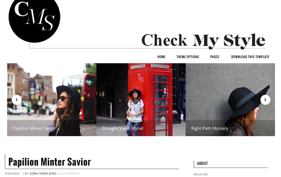 Kiểm tra My Style Responsive Blogger Template