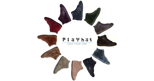PlayHat - Artisan Hand-Dyed Sneakers
