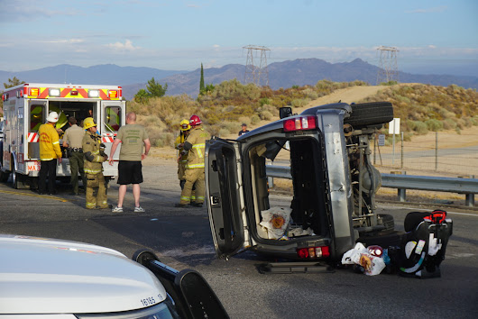 Ranchero Road briefly shutdown after crash Wednesday - Victor Valley News | VVNG.com