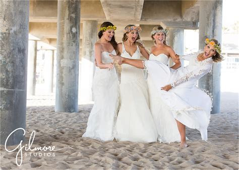 Mother and daughters, the wedding dress session