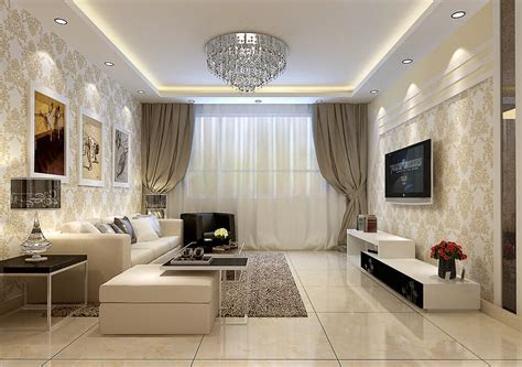 wallpaper  living room beautiful decorating ideas home