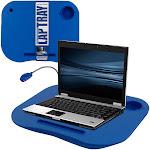 Laptop BuddyT Mobile Work Station - Blue - includes Light