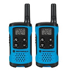 Motorola FRS MOT-T100 16-Mile Range Radios Blue - Pack of 2