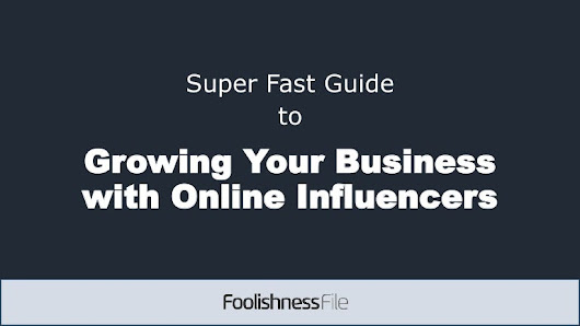 Super fast guide to growing your business with influencers