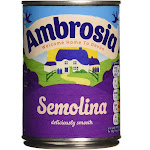 Ambrosia Creamed Semolina Pudding - 400g (Pack of 2) By British Food Supplies