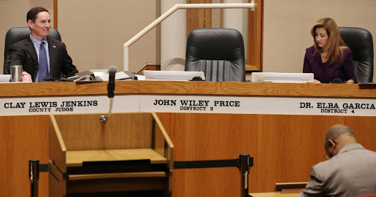 As his corruption trial begins, John Wiley Price's absence 'very obvious' at Dallas County  | Dallas County | Dallas News