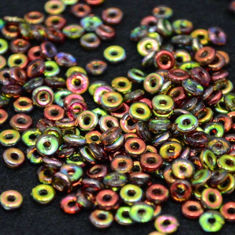 s39081 Czech Seedbeads -  O Beads - Magic Apple