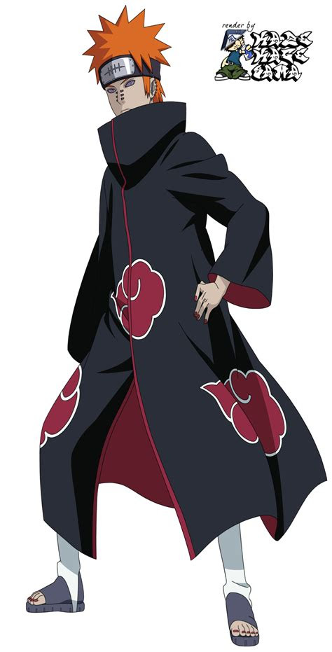 naruto pain png transparent picture  designing
