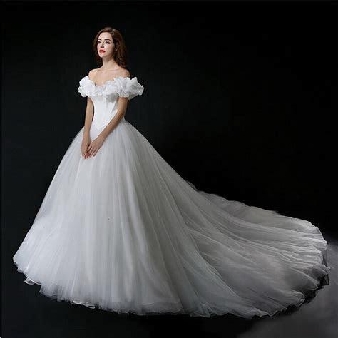 Aliexpress.com : Buy Real Photo Cinderella Wedding Dress