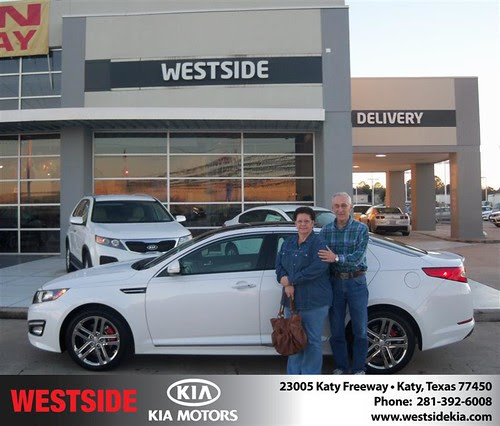 Happy Birthday to John Mctigue from Rizkallah Elhallal and everyone at Westside Kia!