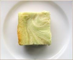 Green Tea White Chocolate Brownie