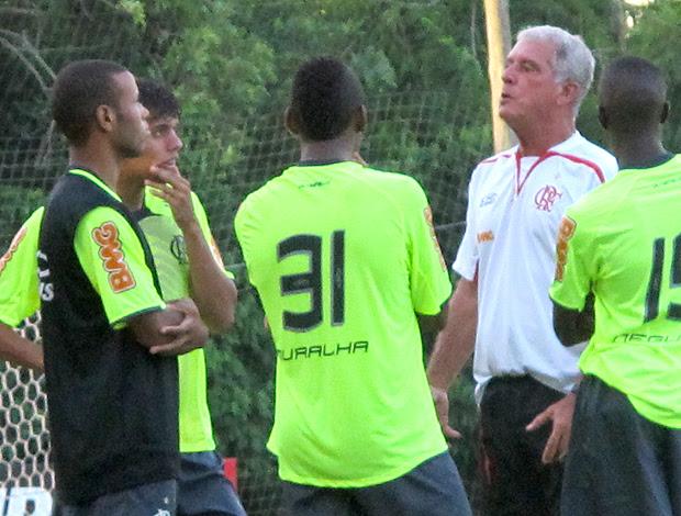 Muralha treino Flamengo (Foto: Richard Fausto / Globoesporte.com)