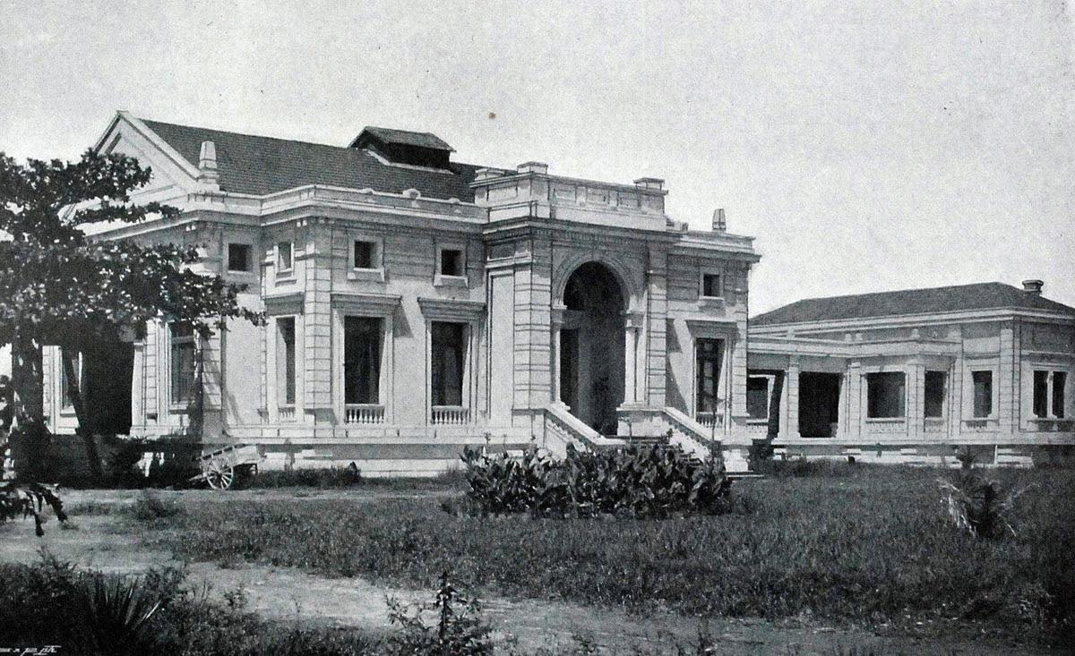 Ki n tr c vi t vietnam architecture le tonkin vers 1900 for Chambre de commerce vietnam