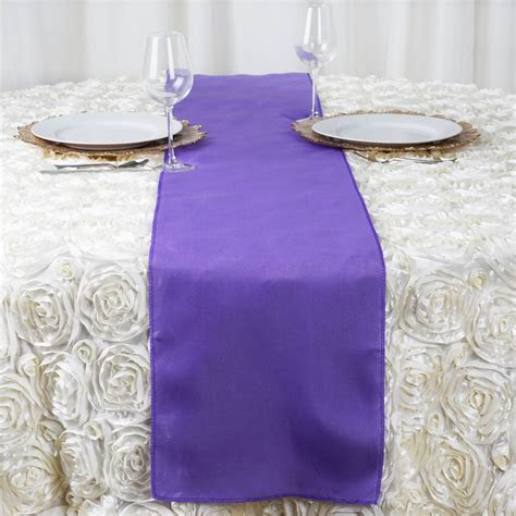 "50 Wholesale Lot POLYESTER 12x108"" Table RUNNERS Wedding"