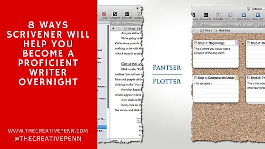 8 Ways Scrivener Will Help You Become a Proficient #Writer