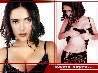 salma hayek in bikini