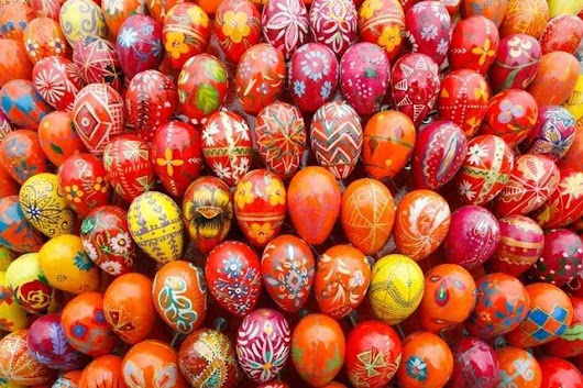 Behold Ukrainian Easter Art: Incredible, Inedible Eggs