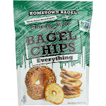 Hometown Bagel, Chip Bagel Everything - 6 Ounce -PACK 12