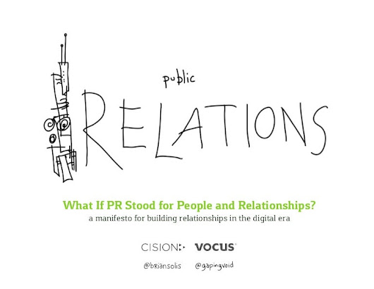 What If PR Stood for People and Relationships By Brian Solis