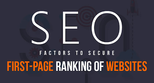 SEO Factors to Secure First-Page Ranking of Websites