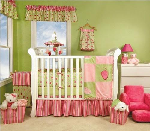 Cute and Sweet Baby Girl Bedroom Themes - HomesFeed