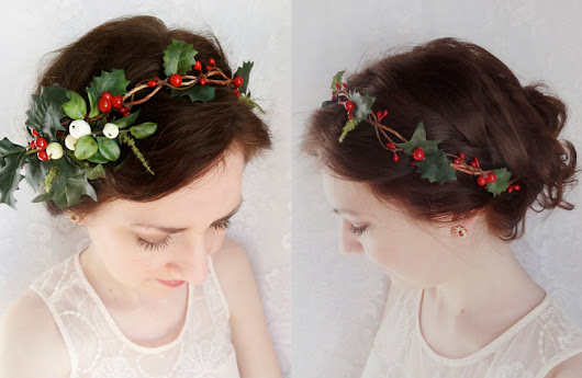 Christmas Hairstyles & Hair Accessories to Meet 2017 | Hairstyles 2017, Hair Colors and Haircuts