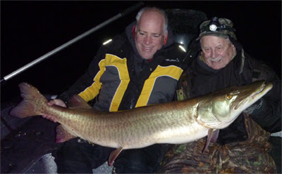 Ramsell Boats Largest Musky In Over 60 Years Of Fishing - Musky Hunter Magazine
