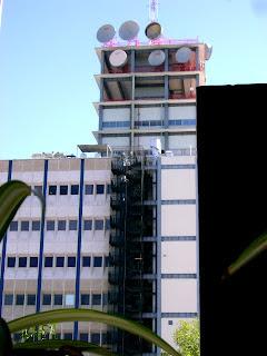 Edificio de Telmex en Guadalajara, Jalisco. México.