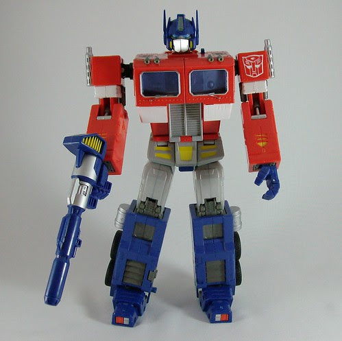 Transformers Optimus Prime 20th anniversary edition - Modo robot