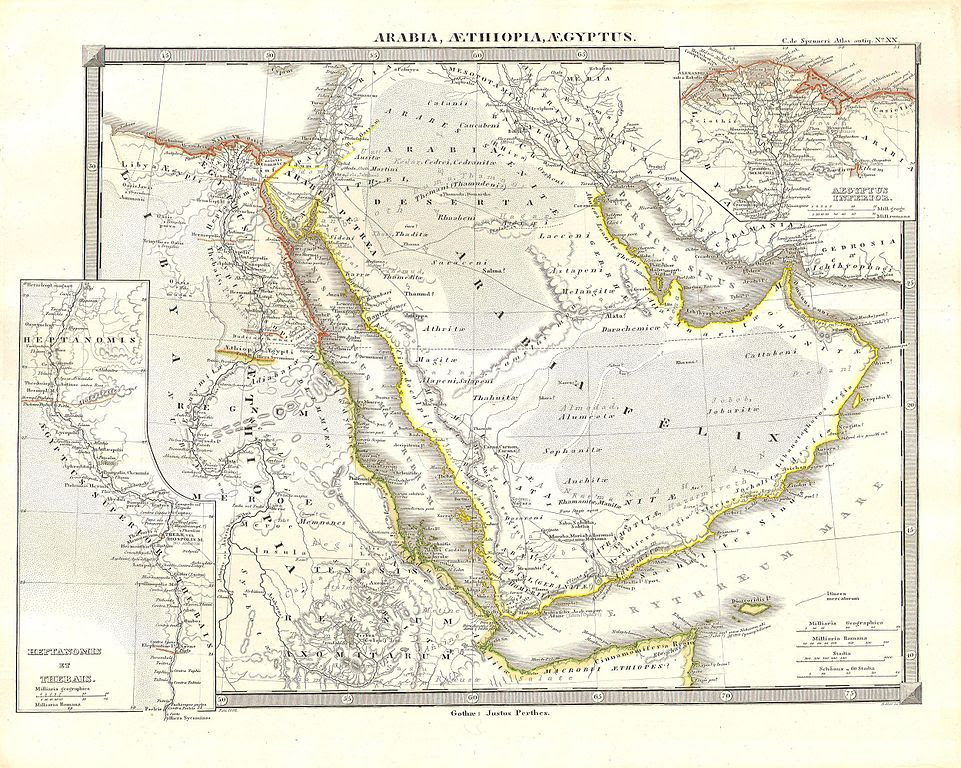 File1855 Spruneri Map Of Arabia Egypt And Ethiopia Or