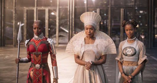 Black Panther Female Characters And Cast Interviews #BlackPanther