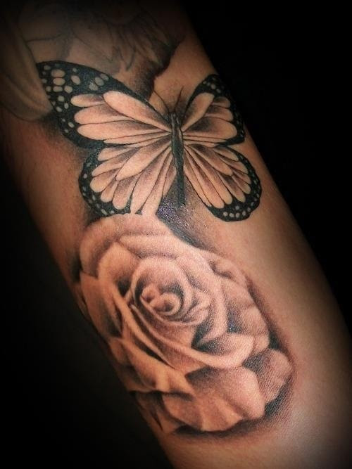 Awesome Skull Butterfly Tattoo Tattoomagz