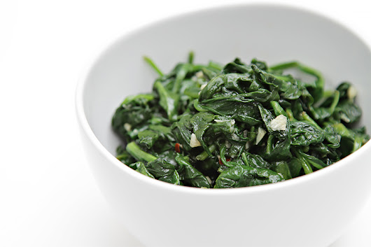 Sautéed spinach | Recipe