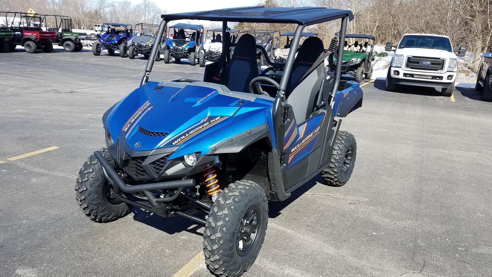 2019 Yamaha Wolverine X2 R Spec Blue