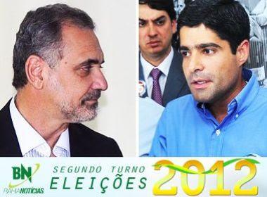 Mais de 1,8 milhão de eleitores decidem entre ACM Neto e Pelegrino neste domingo