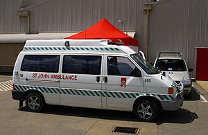 English: St John Ambulance in Australia.