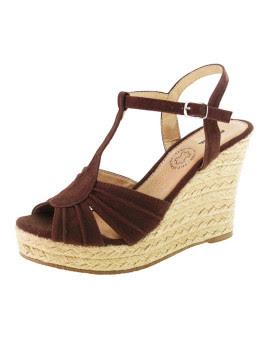 Sandálias Castanhas c/Fivela