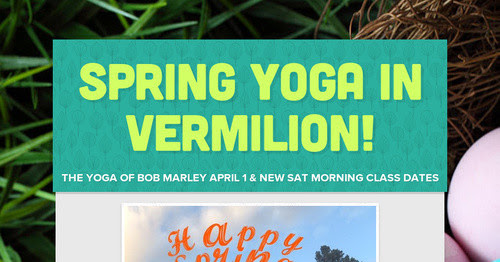 Woo Hoo Vermilion Yoga On Saturday!