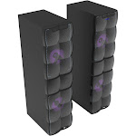 QFX HE-620700 Twin Tower Home Entertainment System